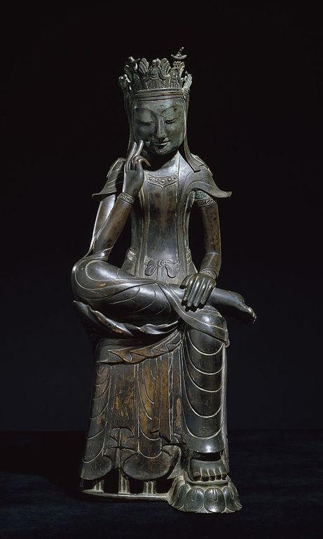 Pensive_Bodhisattva_(National_Treasure_No._78)_01